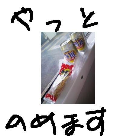 館山から特急でビール